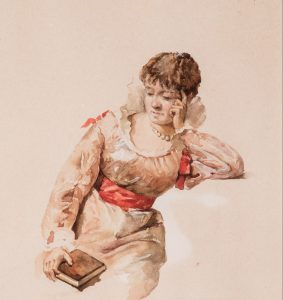 1130-exposicio-aquarel%c2%b7la-valenciana-obra-dona-amb-llibre