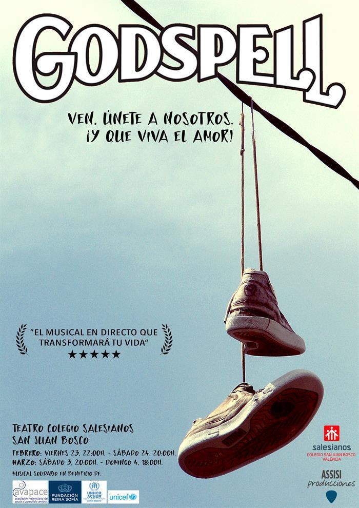 El colegio San Juan Bosco estrena su versión de Broadway \'Godspell ...