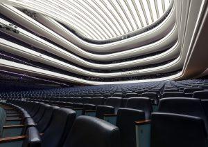 Sala principal del Palau de Les Arts. Fotografías Miguel Lorenzo / Mikel Ponce
