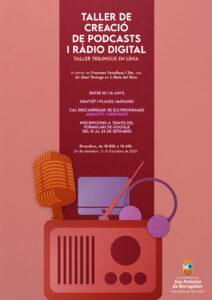 Cartel podcast y radio - SAB