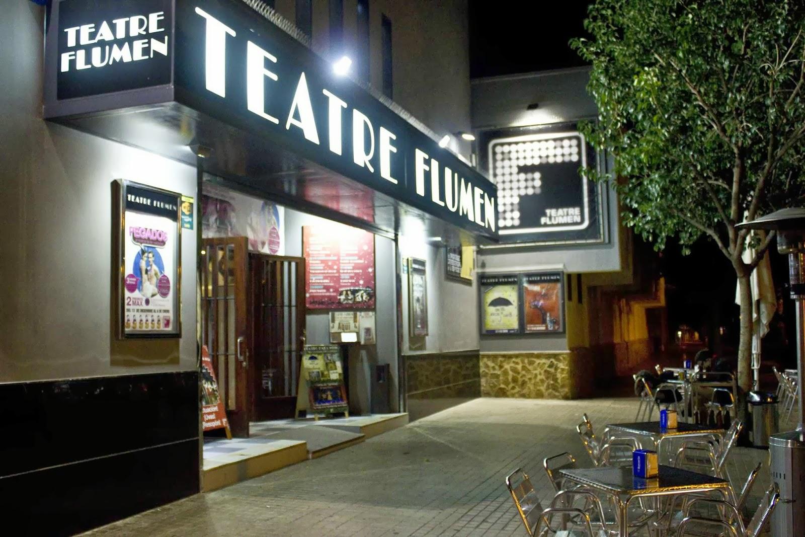 Teatro Flumen Valencia - Obras de teatro en Valencia