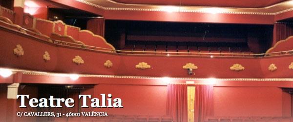 Obras de teatro en Teatro Talia Valencia
