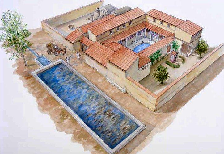 Descubre villa cornelius la vida rural en poca romana for Villas romanas